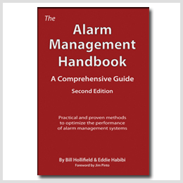 The Alarm Management Handbook written by Bill Hollifield and Eddie Habibi.
