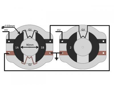 This is a schematic of the physical layout of the soft generator.