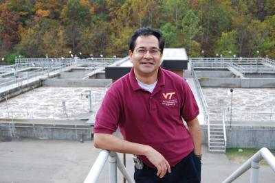 Virginia Tech's Sunil Sinha created a platform for direct sharing and dissemination of relevant water infrastructure information.