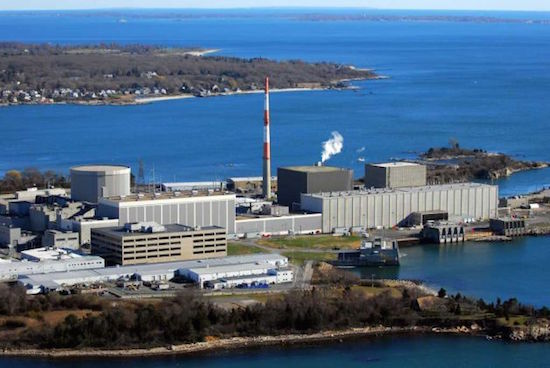 A hydrogen gas leak shut down the Millstone Unit 3 nuclear reactor in CT.