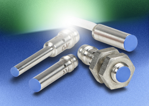 Miniature inductive proximity sensors are available from AutomationDirect.