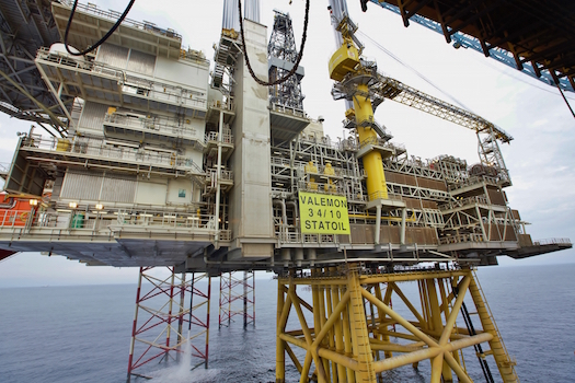 Statoil's Valemon platform, located on the Norwegian Continental Shelf, will become a periodically-manned installation and the company's first platform operated from shore.