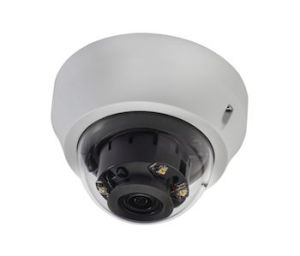 The IKS-WR7413 IP dome camera is the first line of defense for monitoring what is happening outdoors even in complete darkness.