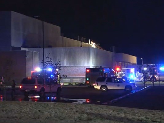 Firefighters Responded To A 5 Alarm Fire At The Anheuser Busch Plant In Arnold Mo